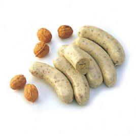 Boudin blanc aux noix et pruneaux