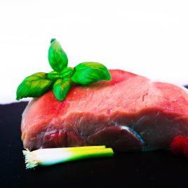 Roti de porc au jambon