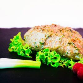 Roulade de porc aux cèpes