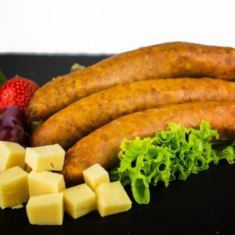 saucisse au fromage emmental