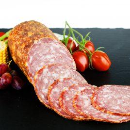 Saucisson Ardennais porc et boeuf (entier 400 grs)